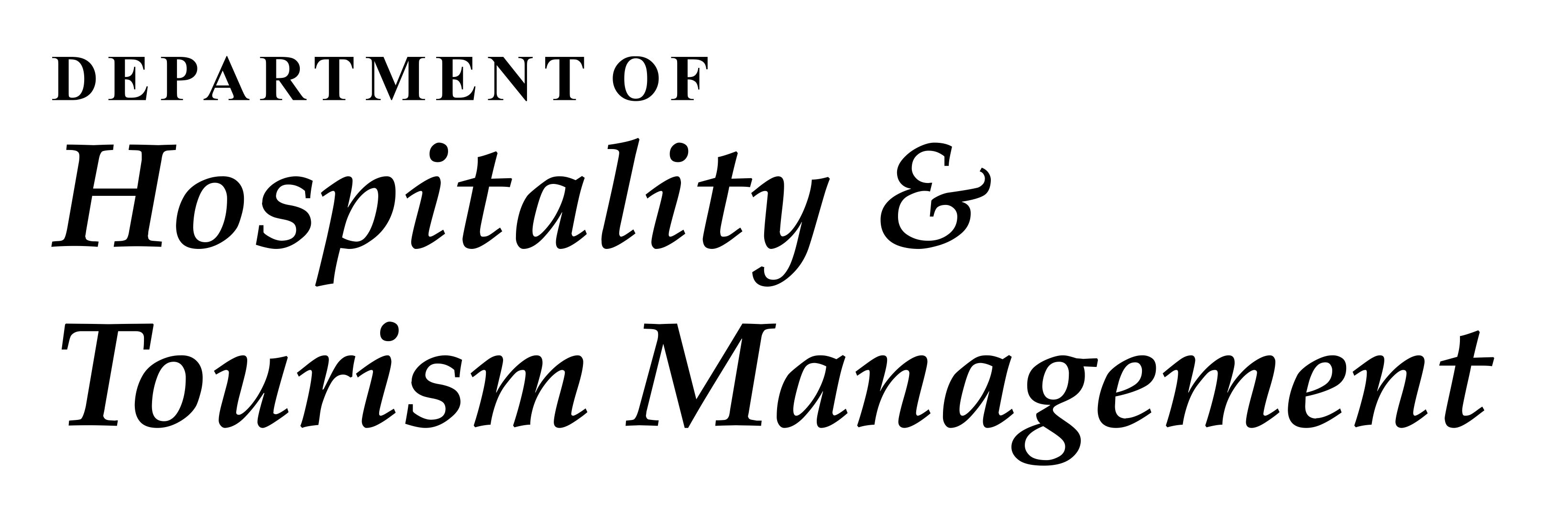 Department of Hospitality & Tourism Management - DAVIET College
